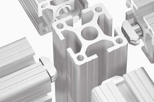Maytec Aluminum Extrusion Profiles