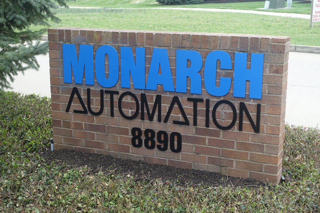 Monarch Automation Sign