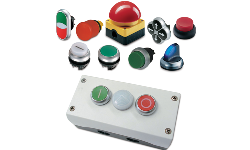 Eaton Push Buttons and Pilot Lights